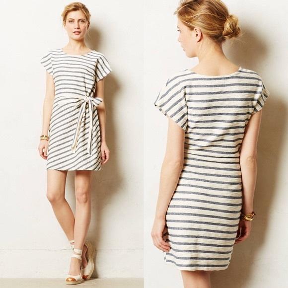 faa69943c79a Anthropologie Dresses | Anthro Saturday Sunday Isabel Tie Waist ...